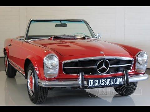 Mercedes Benz 230SL Pagode 1965 good condition -VIDEO- www.ERclassics.com