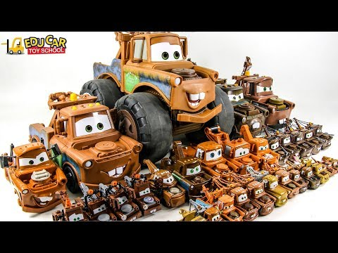 Learning Color Special Disney Pixar Cars Lightning McQueen Mack Truck Mater Play For Kids Car Toys