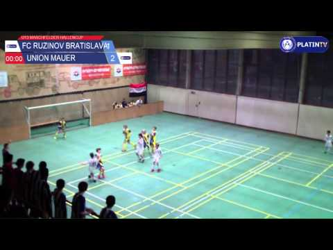 Tor -  FC Ruzinov Bratislava / Union Mauer am 13.02.2016 17:32