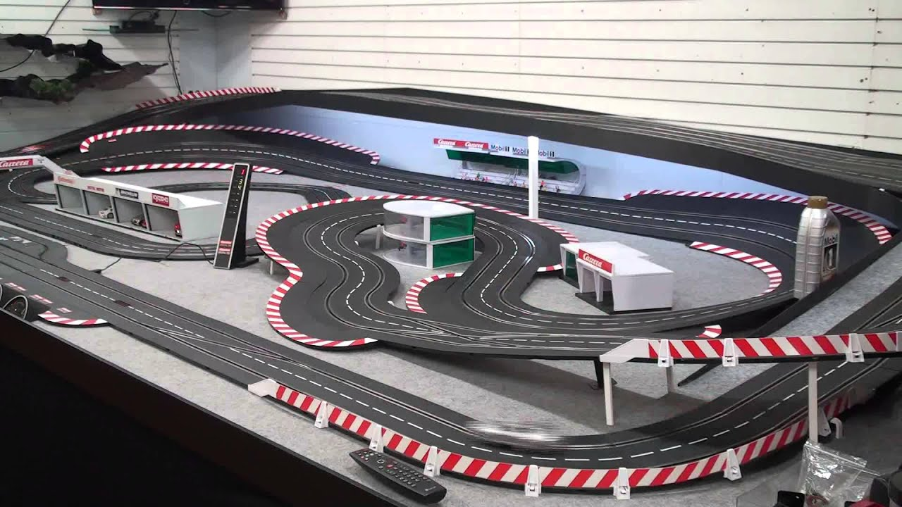 carrera slot car race at goracing circuit youtube. Black Bedroom Furniture Sets. Home Design Ideas