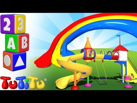TuTiTu Przedszkole | Nauka Kolorów Po Angielsku Dla Dzieci | Kolorów Plac Zabaw