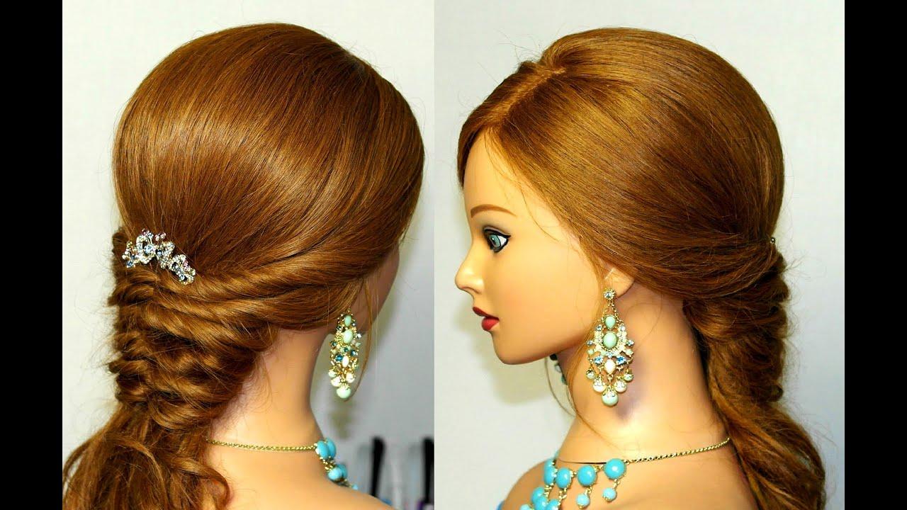 Причёски из жгутов на длинные волосы на каждый день