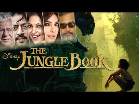 'THE JUNGLE BOOK' ft Priyanka Chopra, Irrfan Khan, Nana Patekar & Shefali Shah | Video Out Now