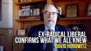 Ex Radical Liberal Confirms What We All Knew - David Horowitz on The Jim Bakker Show