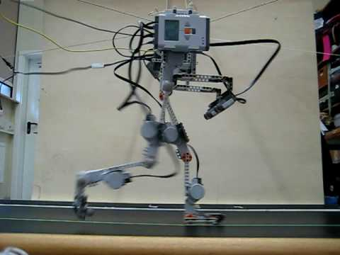 NXT Mindstorms Walking Robot Biped - Pinocchio