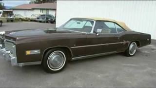 1976 Cadillac Eldorado Convertible Drop Top. 500 cu Motor Congressmans car