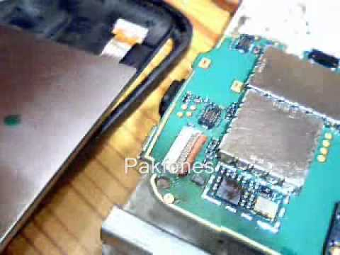 how to replace Nokia 5800 display ic by pakfones