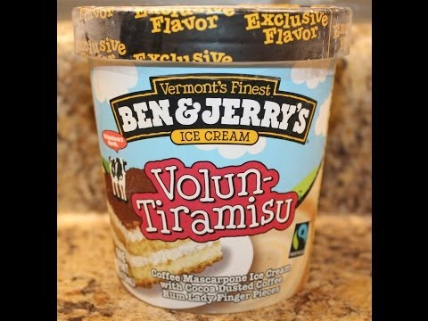 Ben & Jerry's: Volun-Tiramisu Ice Cream Review