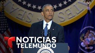 Discurso de despedida completo del presidente Barack Obama (Español) | Noticias | Noticias Telemundo