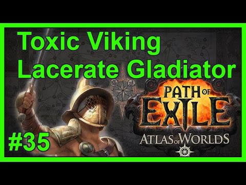 Atlas Map: Crystal Ore (T1) - #35 - Toxic Viking - Path of Exile: Atlas of Worlds v2.4