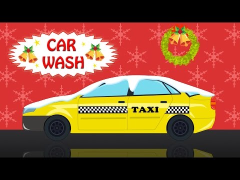 Taxi | Car Wash | Learning Video | Christmas Special