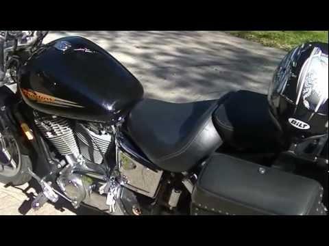 Back2Eden - HONDA SHADOW SPIRIT VT1100  COLD START