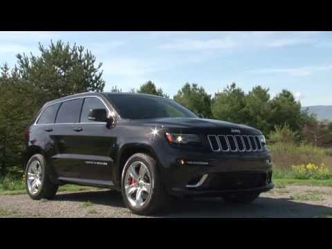 2014 Jeep Grand Cherokee SRT - Drive Time Review with Steve Hammes