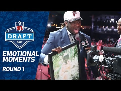 Most Emotional Moments Round 1 2017 Nfl Draft
