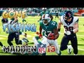 Madden 13 - Reggie Bush Finishing Runs D Gone Fishing Crazy! Madden - Online Ranked Match - DOLPHINS