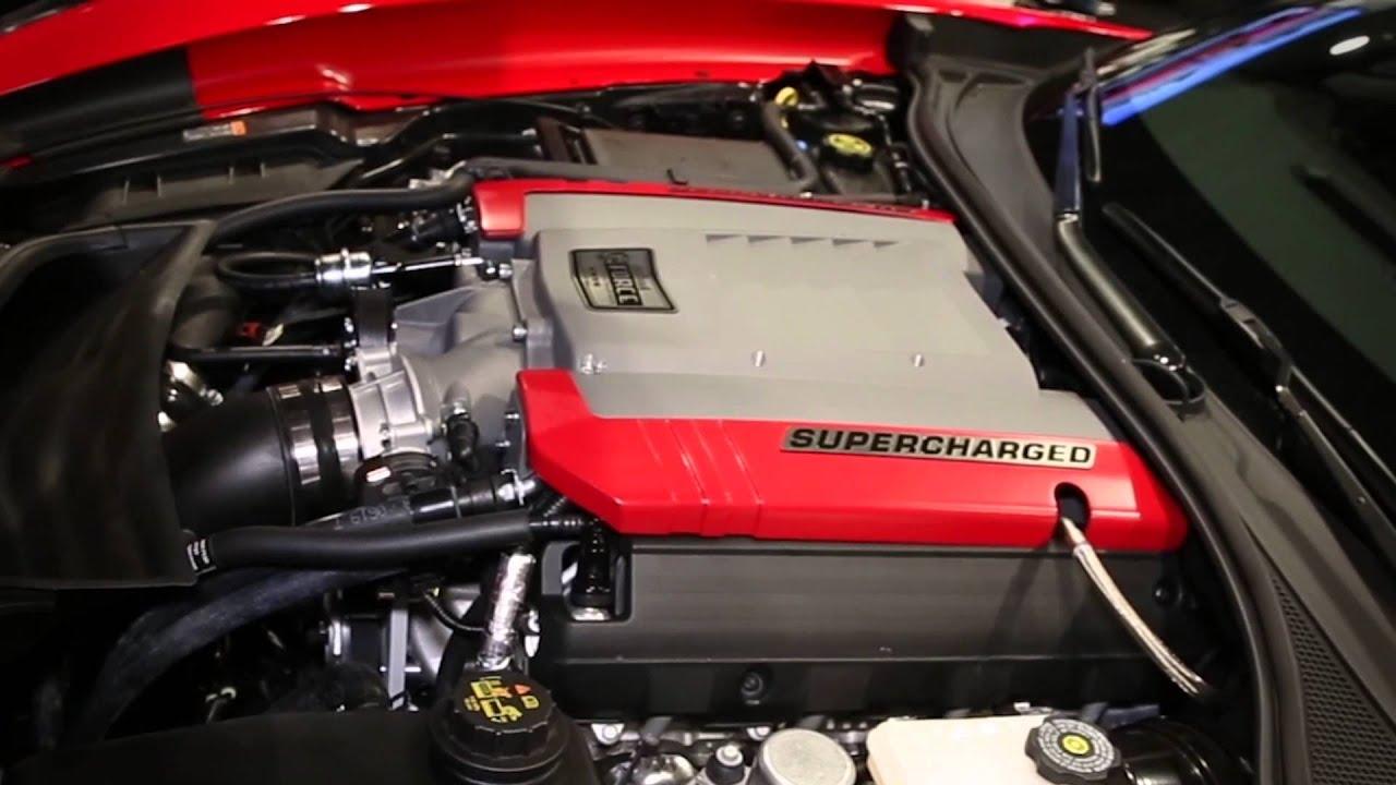 Sema Show 2013 Edelbrock S New 2014 C7 Stingray Corvette Supercharger Youtube