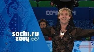 Evgeny Plyushchenko Wows His Home Crowd - Figure Skating Team Event  Sochi 2014 Winter Olympics