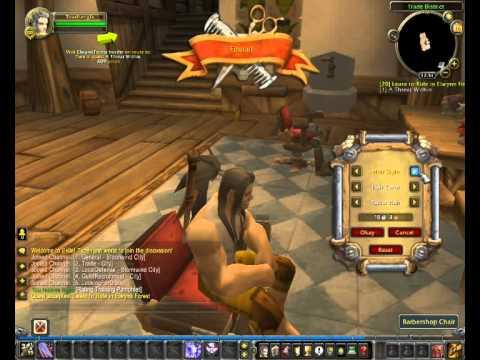 World Of Warcraft: Informacje, Porady #2 - Fryzjer, Zmień Swój Wygląd.