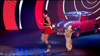 Ashleigh & Pudsey - Austin Powers Routine (Red or Black)