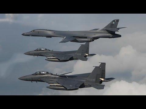ВВС США у берегов КНДР