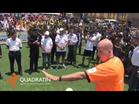 Inauguran Nacional de Street Soccer en Morelia