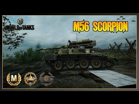 World of Tanks // M56 Scorpion // Ace Tanker // Sniper // Xbox One