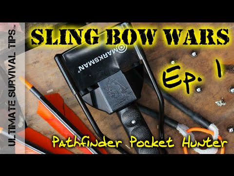 BEST Survival Slingshots for Bug Out Bag / Hunting - Ep. 1 - Pathfinder Pocket Hunter on Trial