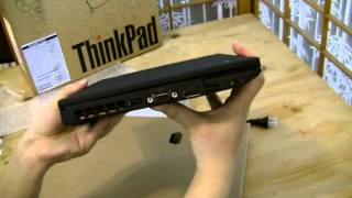 Unboxing: Lenovo ThinkPad X220