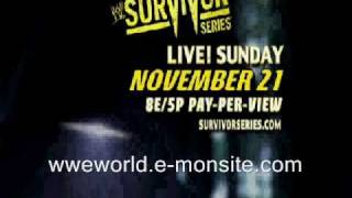 WWE Survivor Series 2010 Promo - WWE World (wweworld.e-monsite.com)