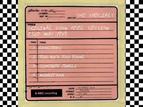 The Specials Gangsters John Peel sessions 1979