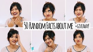 50 WEIRD & RANDOM FACTS ABOUT ME + Daniel Wellington GIVEAWAY