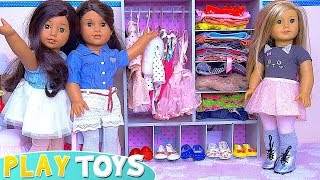 Play AG Baby Dolls Clothes and Shoe Shop Toys!