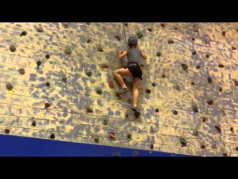 Natalia Rock Climbing video