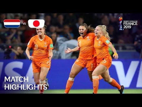 Netherlands v Japan - FIFA Womenвs World Cup France 2019в