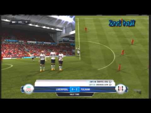 Liverpool Vs Fulham FT) 0  3