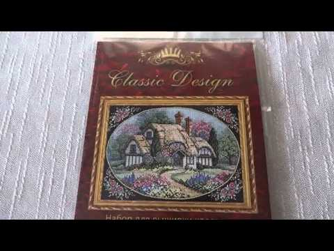 Classic design вышивка