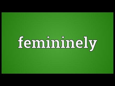 Header of femininely