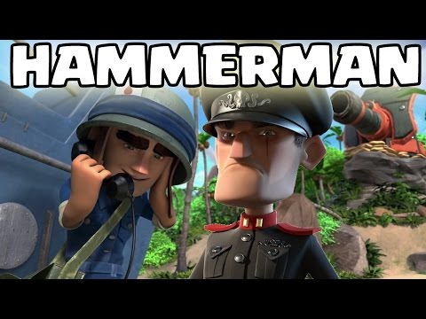 HAMMERMAN ACTION! || BOOM BEACH || Let's Play Boom Beach [Deutsch/German HD+]