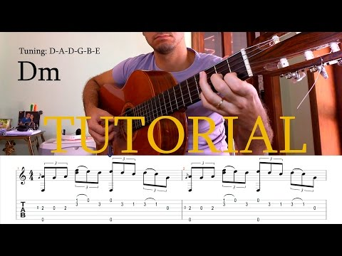 Fingerstyle Tutorial: The Last Of The Mohicans -  (Guitar Tab)