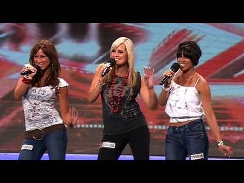 The X Factor 2009 - Miss Fitz - Auditions 2 (itv.com/xfactor)