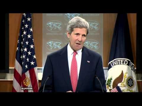 Kerry attacks Russia for Ukraine deception