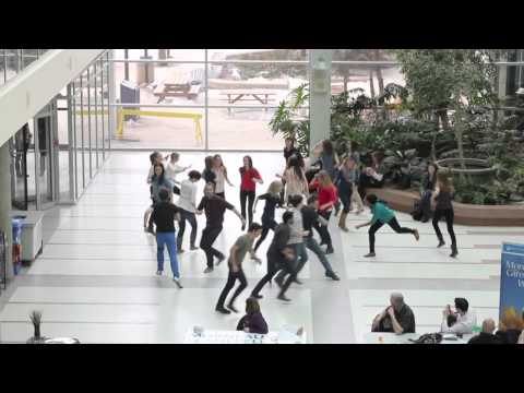 Medicine Class of 2013 University of Manitoba Flash Mob