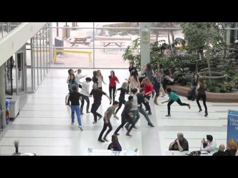 Medicine Class of 2013 University of Manitoba Flash Mob