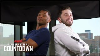 Baker Mayfield and Russell Wilson, similar in height and beyond | NFL on ESPN