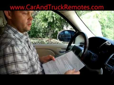 Free Caddy. Chevy. GMC. Buick Keyless Keyfob Remote Programming 2007 and up.wmv