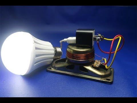 220v light bulb , Free Energy with speaker thumbnail
