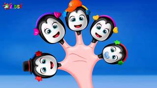 Penguin Cake Pop Finger Family Song | Penguin Finger Family Collection | Daddy Finger Rhyme Kids 1tv
