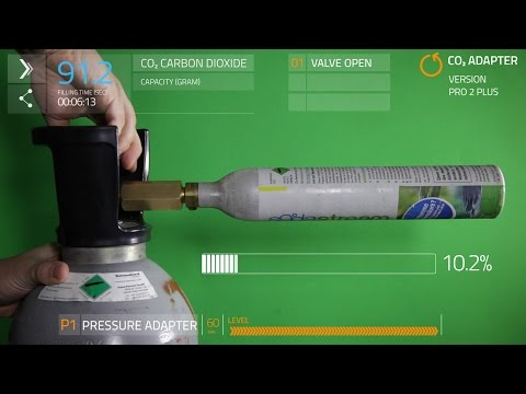 Fill your CO2 Sodastream cylinder yourself