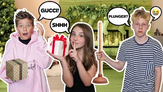 SURPRISING My Boyfriend With Really BAD CHRISTMAS Gifts PRANK! **FUNNY REACTION**🎁| Piper Rockelle