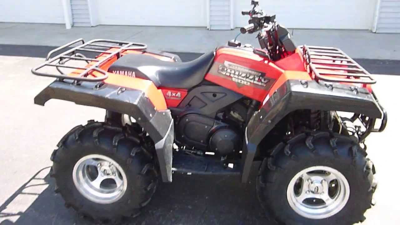 2000 yamaha yfm600 grizzly 600 4x4 quad parting out youtube for Yamaha grizzly 600